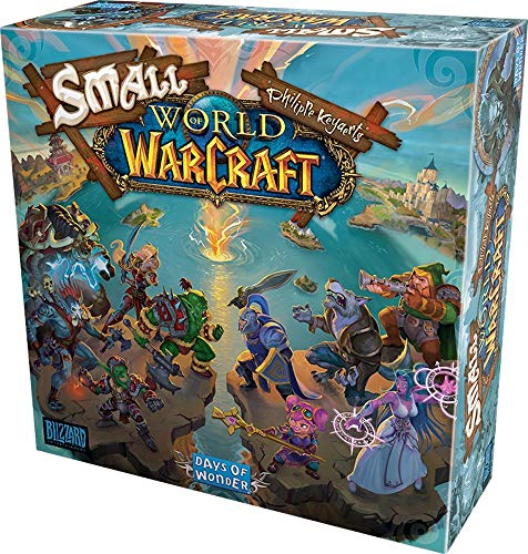 Asmodee Days of Wonder DOWD0020 Small World of Warcraft, Kenner-Spiel, Deutsch