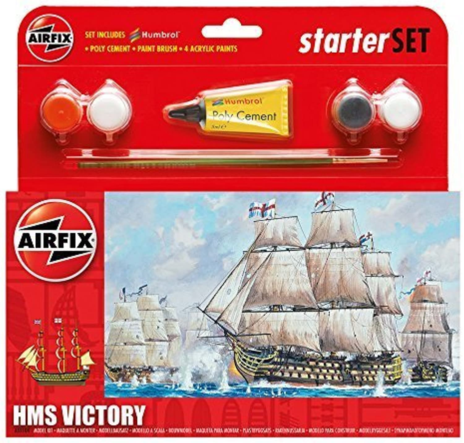 Airfix HMS Victory Starter Gift Set by Airfix