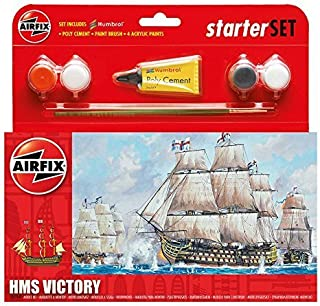 Airfix A55104 HMS Victory Model Small Starter Set by Airfix