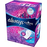 Always Radiant Pantyliners, Regular, Unscented, 48...