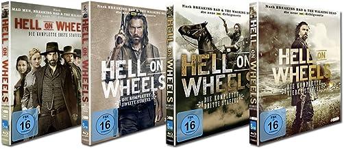 Hell on Wheels - Staffel 1-4 Bundle (13Discs)