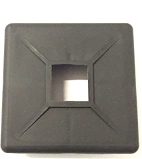 "Autmotive Authority Bumper Plug End Cap Cover RV Camper Trailer 4"" Square Rubber"