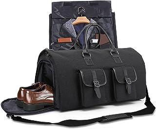 Portatrajes de Viaje, Bolsa de Vuelo Plegable con Bolsas de Zapatos Independientes, Bolso Impermeable para Aire Libre con ...