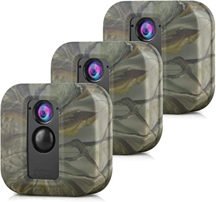 Silikon Schutzhülle Für Blink Xt Xt2 Sicherheitskamera Kompatibel Mit Blink Xt Xt2 Zubehör 3er Pack Camouflage Elektronik