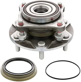 [1-Pack] 4110446 - [4WD/4x4 Model] FRONT Wheel Hub & Bearing Assembly Compatible With Tacoma, 4Runner, FJ Cruisers, GX460,...