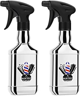 2pcs Barber Water Spray Bottle, Segbeauty 8.79oz 260ml Hair Mist Spray Bottles, Adjustable Sprayer Bottle with Fine Mist t...