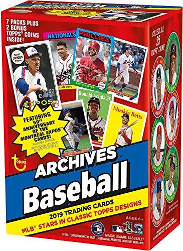 Topps 2019 アーカイブ 野球 リテール ブラスターボックス (8パック/ 8カード)