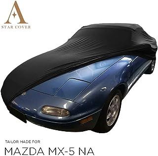 Star Cover AUTOABDECKUNG SCHWARZ Mazda MX 5 NA SCHUTZHÜLLE ABDECKPLANE SCHUTZDECKE