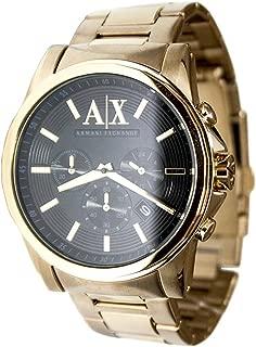 Armani Exchange Mens Gold Chronograph Bracelet Wat