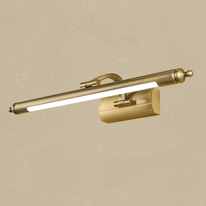 WEI Spiegel-Licht führte amerikanisches Spiegel-Frontlicht Retro- europische Spiegel-Badezimmer-Badezimmer-Badezimmer-Kabinett-Lichter