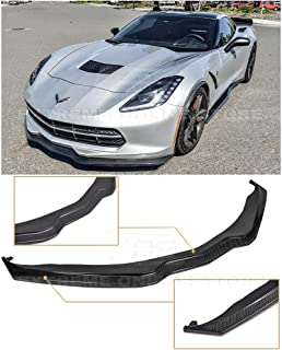 Extreme Online Store for 2014-2019 Chevrolet Corvette C7 | Z06 Z07 Stage 2 Style Carbon Fiber Front Bumper Lower Lip Splitter