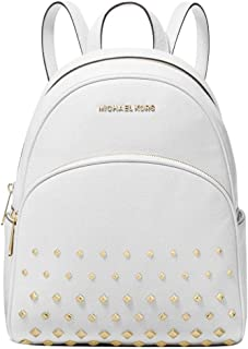 Michael Kors Abbey Medium Studded Backpack Leather