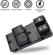 Travay Front Left Driver Side Master Power Window Switch Compatible with 2006-2017 Nissan Frontier 2 Door Replacement Window Switch 25401-ZP50A