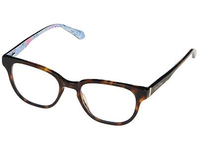 Lilly Pulitzer Sandbar (Dark Tortoise) Reading Glasses Sunglasses