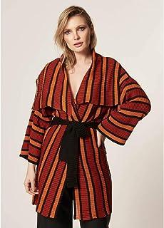 Kimono Tricot Com Faixa Id