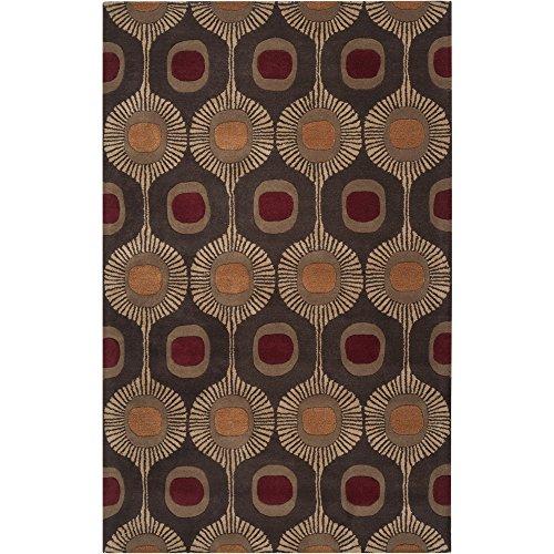 Customer Favorite Surya Forum Fm 7170 Hand Tufted 100 Wool Dark Chocolate 10 X 14 Area Rug Accuweather Shop