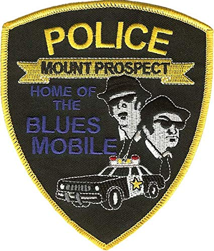Mount Prospect Police Department Shoulder Patch: Blues Brothers (1978)