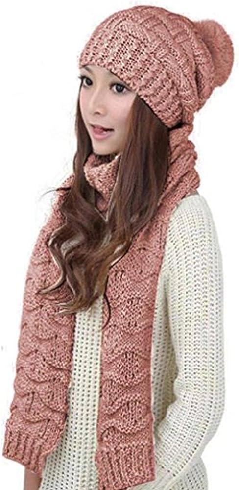 HANERDUN Women Girls Fashion OFFer Winter Hat Warm Max 86% OFF Knitted Beanie
