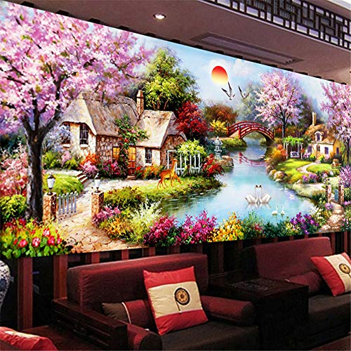 CULASIGN DIY 5D Diamant Painting DIY Crystal Strass Stickerei Diamond Handgemachtes Modelo Klebebild Con Digitales Sets Kreuzstich Wanddekoration