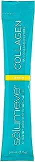 Solumeve Marine Collagen Peptides Plus Vitamin C & Hyaluronic Acid, Lemon, 30 Packets, 0.18 oz (5.15 g) Each