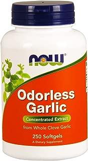 Now Supplements, Odorless Garlic (Allium sativum), 250 Softgels