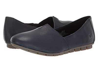Born Sebra (Navy Full Grain Leather) Women