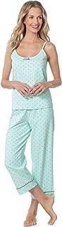 Womens PJs Cotton Capris - Womens Pajamas Set