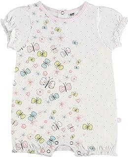 YATSI - Pelele Corto para bebé con Mariposas bebé-niños