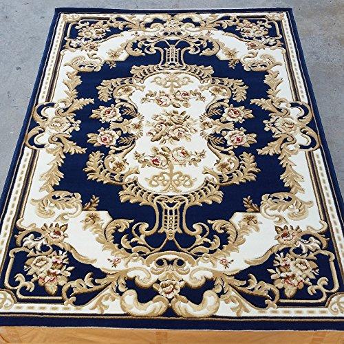 Europeo di lana letto tappeto scendiletto i soggiorno bovindo tappeto cinese fiori recisi comodino tappeti moderni Joker