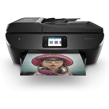 HP Envy Photo 7830 Y0G50B Stampante Fotografica Multifunzione A4, Stampa, Scansiona, Fotocopia, Wi-Fi, HP Smart, Stampa Fronte/Retro Automatica, 4 Mesi di Servizio Instant Ink Inclusi, Nero