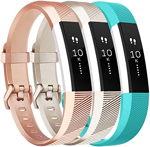 Vancle Bands with Metal Buckle for Fitbit Alta HR and Fitbit Alta