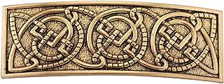مشابك شعر معدنية من LIKGREAT Celtic Irish Knotwork للنساء مجوهرات الفايكينج العرقية