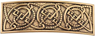 LIKGREAT Celtic Irish Knotwork Metal Hair Clips Barrettes for Women Viking Ethnic Jewelry