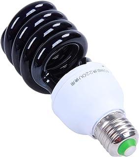 Yantan Ampoule E27 UV à lumière noire - 40 W - 220 V - Forme : spirale - Tension : 40 W - 220 V