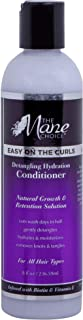 THE MANE CHOICE Easy On The Curls Detangling & Hydration Conditioner - Biotin, Avocado Oil and Vitam E to Clean, Nourish &...