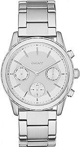 DKNY Ladies Rockaway Stainless Steel Band Watch