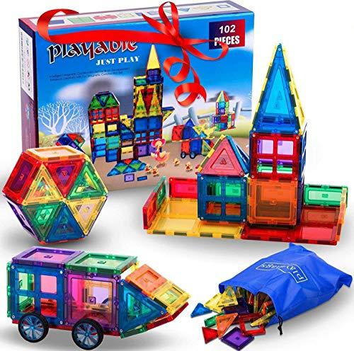 Mega Magnetic Building Blocks Set: Teach...