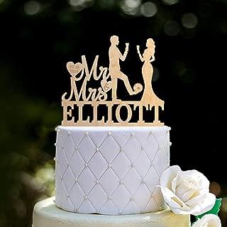 Soccer wedding cake topper,soccer player wedding cake topper,Soccer fan wedding Mr and mrs cake topper,football wedding cake topper,0114