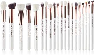 Jessup Brush Set 20 PCS Makeup Brushes for Foundation Blending Blush Concealer Eye Shadow Lip, Synthetic Fiber Bristles Wo...