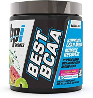 BPI Sports Best BCAA - BCAA Powder - Branched Chain Amino Acids - Muscle Recovery - Muscle Protein Synthesis - Lean Muscle...
