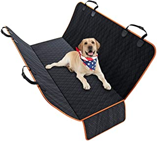 Dog Car Seat Cover - Heavy Duty Non-Slip Durable Scratchproof Waterproof - With Side Flaps Dog Hammock - For Different Car...