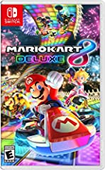 Hit the road with the definitive version of Mario Kart 8 and play anytime, anywhere! Race your friends or battle them in a revised battle mode on new and returning battle courses. Play locally in up to 4-player multiplayer in 1080p while playing in T...