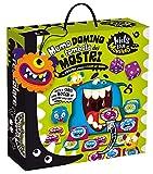 Liscianigiochi- Kids Love Monsters Domino Tombola e Memo dei Mostri Gioco, Multicolore, 82735