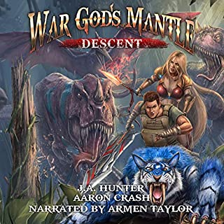 War God's Mantle: Descent audiobook cover art
