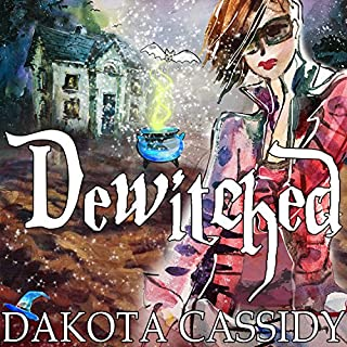 Dewitched audiobook cover art