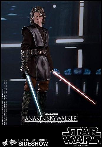 suministramos lo mejor Hot Toys - Figura coleccionable de Anakin Skywalker Skywalker Skywalker Star Wars  Episodio III Revenge of the Sith 1 6  100% garantía genuina de contador