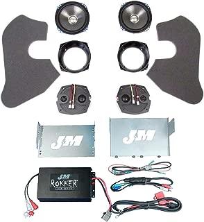 J&M Rokker 2 Speaker and 350 Watt Amplifier Kit for 2006-2013 Harley-Davidson Electra Glide Street Glide models - HC-350XXRK-ESG