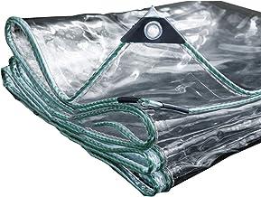 PENGFEI transparant dekzeil waterdicht tuinieren balkon Shelter Hardy, polyvinylchloride, 300 G / M2, meerdere maten 3.8x4.8m