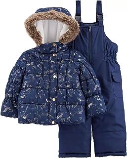 Girls' Heavyweight 2-Piece Skisuit Snowsuit