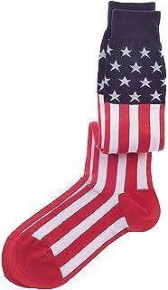 American Flag Men's Socks (Trouser)